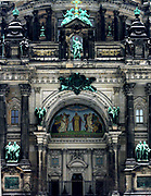 Berlin Cathedral (Berliner Dom) the Evangelical Protestant Supreme Parish and Collegiate Church, literally Supreme Parish and Cathedral Church) in Berlin, Germany. It is the parish church of the Evangelical congregation Gemeinde der Oberpfarr located on Museum Island.