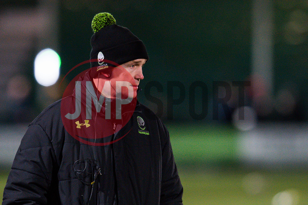 Worcester Warriors Head Coach Carl Hogg during the pre match warm up - Mandatory by-line: Craig Thomas/JMP - 01/12/2017 - RUGBY - Sixways Stadium - Worcester, England - Worcester Warriors v Sale Sharks - Aviva Premiership