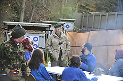 Journalists in a Hostile Environment First Aid Training (HEFAT) course participate as students in activity drills and hands-on skill labs to help prepare them for working in inhospitable locations around the globe. Photo By | Chris Post<br /> <br /> This course is offered in conjunction with @BlueMountainGroup , @TYRBluemountain and the support of @NorthamptonCommunityCollege in Bethlehem, Pa. USA<br /> www.Northampton.edu/hefat