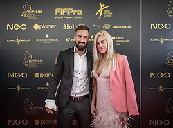 Matko Obradovic during SPINS XI Nogometna Gala 2019 event when presented best football players of Prva liga Telekom Slovenije in season 2018/19, on May 19, 2019 in Slovene National Theatre Opera and Ballet Ljubljana, Slovenia. ,Photo by Urban Meglic / Sportida