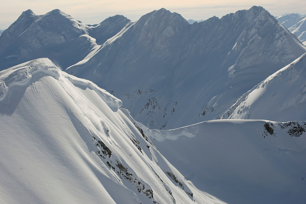 Rider: Dominique Perret  Location: Alyeska (Alaska/USA)
