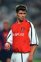 Tomas Danilevicius - Arsenal. Arsenal v FC Barcelona, The Amsterdam Tournament, Amsterdam Arena, Holland, 3/8/2000. Credit Colorsport / Stuart MacFarlane.