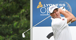 05.06.2014, Country Club Diamond, Atzenbrugg, AUT, Lyoness Golf Open, im Bild Thomas Levet (FRA) // Thomas Levet (FRA) in action during the Austrian Lyoness Golf Open at the Country Club Diamond, Atzenbrugg, Austria on 2014/06/05. EXPA Pictures © 2014, PhotoCredit: EXPA/ Sascha Trimmel