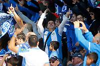 CD Leganes' supporters during La Liga match. October 15,2016. (ALTERPHOTOS/Acero)