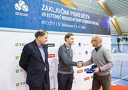 Zoran Krajnc at Slovenian Tennis personality of the year 2014 annual awards presented by Slovene Tennis Association TZS , on December 6, 2014 in Millenium Centre, BTC, Ljubljana, Slovenia. Photo by Vid Ponikvar / Sportida