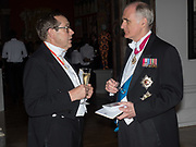 SIR PETER LUFF; LORD STIRRUP OF MARYLEBONE, Royal Academy of Arts Annual Dinner. Burlington House, Piccadilly. London. 6 June 2017