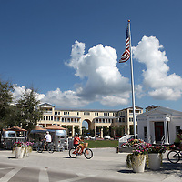 The city of Seaside along the Florida Scenic Highway 30A and the Emerald Coast in the panhandle area of Florida.(AP Photo/Alex Menendez) Florida scenic highway photos from the State of Florida. Florida scenic images of the Sunshine State.