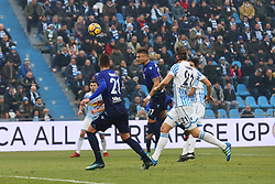 "Foto Filippo Rubin<br /> 06/01/2018 Ferrara (Italia)<br /> Sport Calcio<br /> Spal - Lazio - Campionato di calcio Serie A 2017/2018 - Stadio ""Paolo Mazza""<br /> Nella foto: TERZO GOAL CIRO IMMOBILE (LAZIO)<br /> Photo by Filippo Rubin<br /> January 06, 2018 Ferrara (Italy)<br /> Sport Soccer<br /> Spal vs Lazio - Italian Football Championship League A 2017/2018 - ""Paolo Mazza"" Stadium <br /> In the pic: THIRD GOAL CIRO IMMOBILE (LAZIO)"