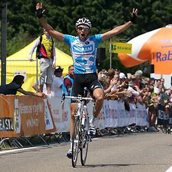 Sportfoto archief 2006-2010<br /> 2010<br /> Niki Terpstra Nederlands Kampioen 2010 in Beek voor Pieter Weening en Lars Boom