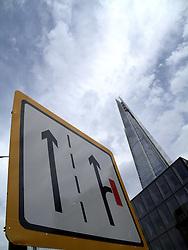 UK ENGLAND LONDON 27JUL13 - General view of the Shard, Europe's tallest building in  Southwark, London.<br /> <br /> <br /> <br /> jre/Photo by Jiri Rezac<br /> <br /> <br /> <br /> © Jiri Rezac 2013