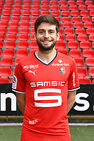 Sanjin Prcic during photoshooting of Stade Rennais for new season 2017/2018 on September 19, 2017 in Rennes, France. (Photo by Philippe Le Brech/Icon Sport)