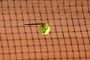 Tennis ball 2017 illustration sponsored by Babolat during the Roland Garros French Tennis Open 2017, preview, on May ......, 2017, at the Roland Garros Stadium in Paris, France - Photo Stephane Allaman / ProSportsImages / DPPI