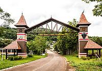 Portal da cidade. Nova Itaberaba, Santa Catarina, Brasil. / <br /> City gate. Nova Itaberaba, Santa Catarina, Brazil.