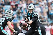 December 23, 2018. Panthers vs Falcons. Kyle Allen, QB