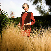 Beth Chatto at her garden which she first started 50 years ago. Beth is also having a retrospective of her horticultural work at The Garden Museum from 18th Nov - 19th April.