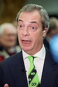 Grassroots Out Public Rally Campaign event at Queen Elizabeth Conference Centre, London, Great Britain <br /> 19th February 2016 <br /> <br /> Nigel Farage MEP<br /> Leader of UKIP <br /> <br /> <br /> <br /> Photograph by Elliott Franks <br /> Image licensed to Elliott Franks Photography Services