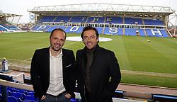 Former Peterborough United players Matthew Etherington and Simon Davies in attendance - Mandatory by-line: Joe Dent/JMP - 20/01/2018 - FOOTBALL - ABAX Stadium - Peterborough, England - Peterborough United v Oldham Athletic - Sky Bet League One