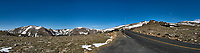 Panorama from Trail Ridge Road. Rocky Mountain National Park. Composite of three images taken with a Nikon D200 camera and 14 mm f/2.8 lens (ISO 100, 14 mm, f/11, 1/200 sec).
