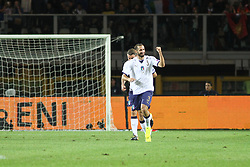 October 6, 2017 - Turin, Piedmont, Italy - Giorgio Chiellini (Italy)  celebrates after scoring during the FIFA World Cup European Qualifying match between Italy and FYR Macedonia at Olympic Grande Torino Stadium on 6 October, 2017 in Turin, Italy. (Credit Image: © Massimiliano Ferraro/NurPhoto via ZUMA Press)