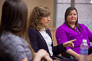 Nancy Miller talks with students about what she feels are the important things to take adavantage of during their time at Ohio University.  Photo by Ohio University / Jonathan Adams