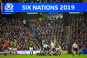 General view  inside the stadium during the Autumn Test match between Scotland and South Africa at the BT Murrayfield Stadium, Edinburgh, Scotland on 17 November 2018.