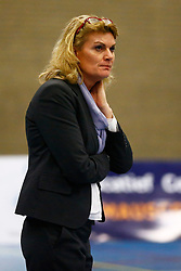 20140329 NED: ARBO ROTTERDAM FUSION - REFLEX KAMPEN, ROTTERDAM<br /> Elvira Groenhuijzen, coach van ARBO Rotterdam Fusion<br /> ©2014-FotoHoogendoorn.nl / Pim Waslander