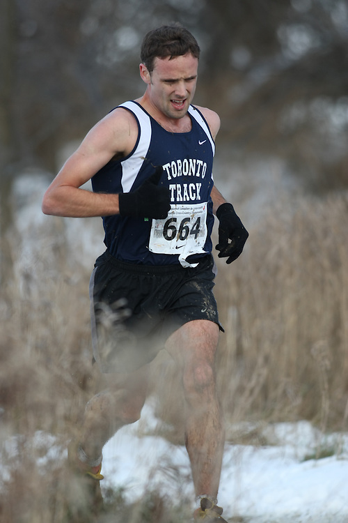 Guelph, Ontario ---29/11/08---  PAUL CHAFE competes in the senior men's race at the 2008 AGSI Canadian Cross Country Championships in Guelph, Ontario, November 29, 2008..Sean Burges Mundo Sport Images