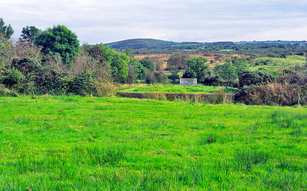 Ballinamuck, Co. Longford, Ireland. Site of the Croppies Graves from 1798 Battle of Ballinamuck. United Irishmen 1798 rebellion