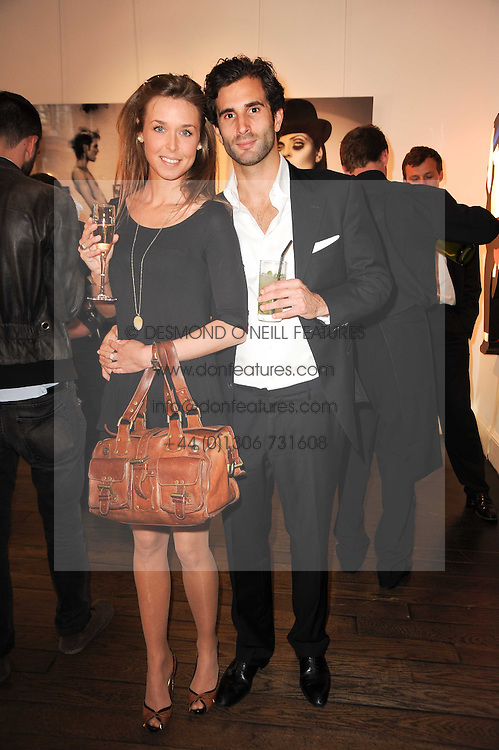 ROSANNA VON ZWEIGBERGK and JEROME ABOUCAYA at a private view of an exhibition of work by artists Zoobs and Lodola held at The Opera Gallery, 134 New Bond Street, London on 16th June 2010.