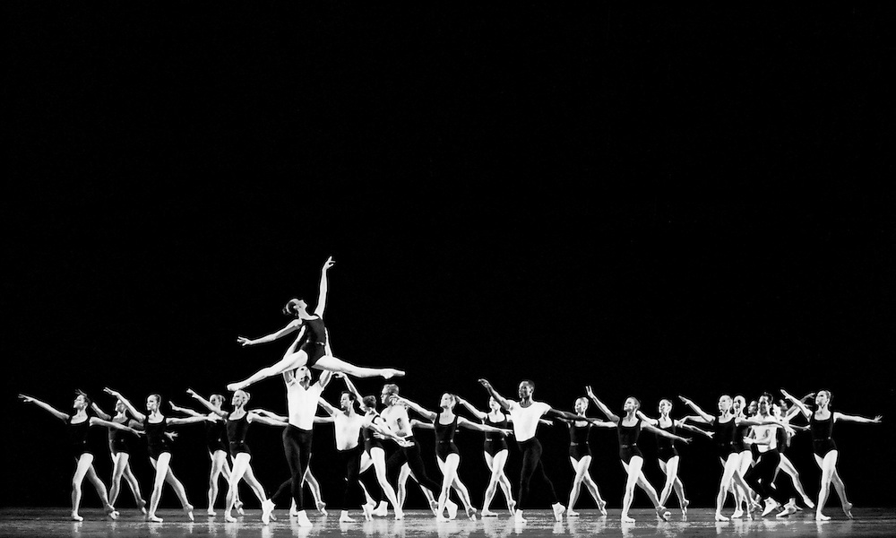 The Four Temperaments.Credit Photo ©Paul Kolnik.New York City Ballet.Choreography by George Balanchine.