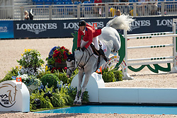 Ward Mclain, USA, Clinta<br /> World Equestrian Games - Tryon 2018<br /> © Dirk Caremans<br /> 20/09/2018