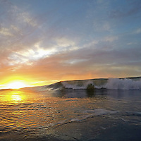 DCIM\100GOPRO\G0482321. Stunning St Clair sunrise <br />