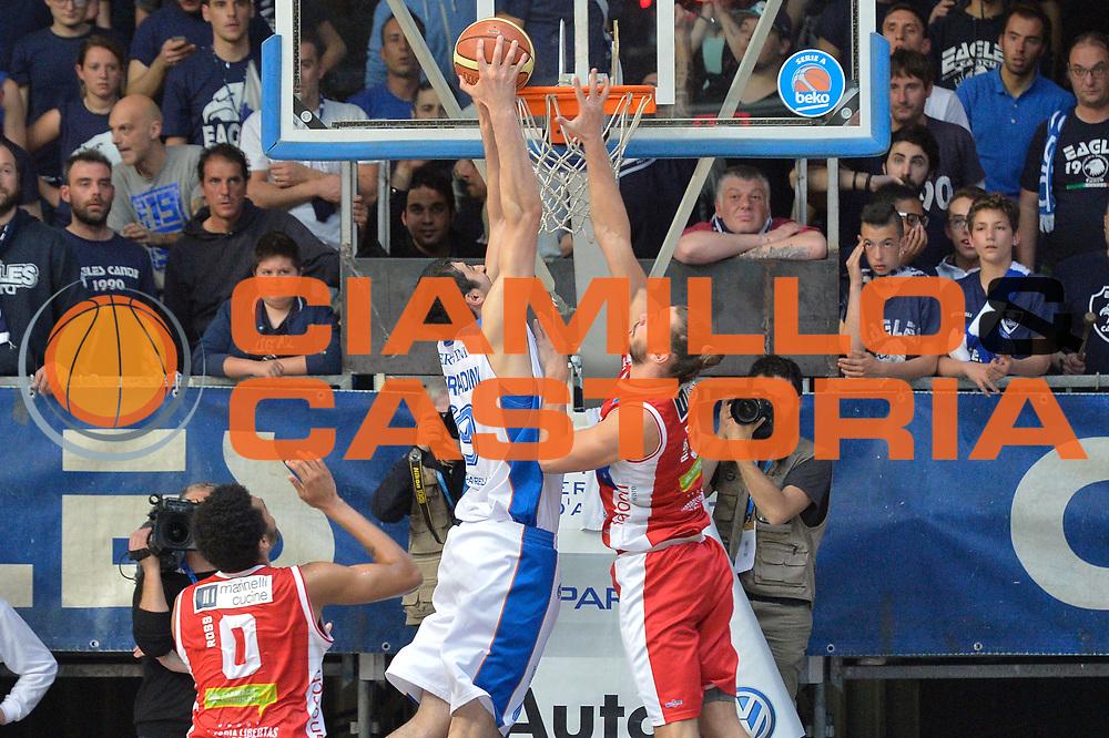DESCRIZIONE : Cantu' Lega A 2014-15 <br /> Acqua Vitasnella Cantù vs Consultinvest Pesaro<br /> GIOCATORE : Giorgi Shermadini<br /> CATEGORIA : Controcampo Schiacciata<br /> SQUADRA : Acqua Vitasnella Cantù<br /> EVENTO : Campionato Lega A 2014-2015 GARA :Acqua Vitasnella Cantù vs Consultinvest Pesaro<br /> DATA : 03/05/2015 <br /> SPORT : Pallacanestro <br /> AUTORE : Agenzia Ciamillo-Castoria/IvanMancini<br /> Galleria : Lega Basket A 2014-2015 Fotonotizia : Cantu' Lega A 2014-15 Acqua Vitasnella Cantù vs Consultinvest Pesaro<br /> Predefinita:
