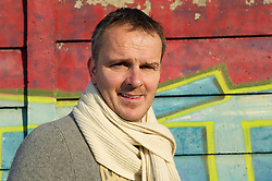 16.01.2012, Anfield, Liverpool, ENG, PL, Anfield Rap Aufnahme, im Bild Former Liverpool player Dietmar Hamann pictured outside Parr Street Studios after the recording of the Anfield Wrap podcast. EXPA Pictures © 2012, PhotoCredit: EXPA/ Propagandaphoto/ David Rawcliff..***** ATTENTION - OUT OF ENG, GBR, UK *****