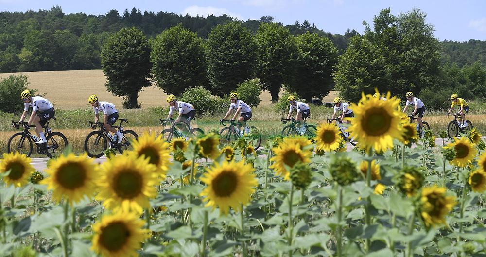 July 7, 2017 - France - THOMAS Geraint (GBR) Rider of Team SKY, FROOME Christopher (GBR) Rider of Team SKY, Illustration (Credit Image: © Panoramic via ZUMA Press)