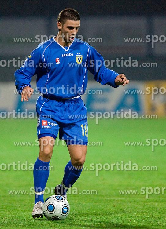 Sasa Kovjenic of Domzale at football match of 15th Round of Slovenian Prva Liga between NK Domzale vs NK Olimpija, on October 28, 2009, in Sports park Domzale, Domzale, Slovenia.   (Photo by Vid Ponikvar / Sportida)
