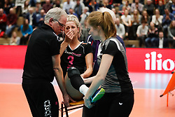 20180218 NED: Bekerfinale Eurosped - Sliedrecht Sport, Hoogeveen <br />Judith Kamphuis (3) of Team Eurosped<br />&copy;2018-FotoHoogendoorn.nl