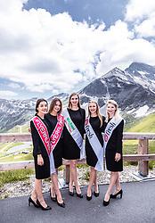 10.07.2019, Fuscher Törl, AUT, Ö-Tour, Österreich Radrundfahrt, 4. Etappe, von Radstadt nach Fuscher Törl (103,5 km), im Bild Hostessen // during 4th stage from Radstadt to Fuscher Törl (103,5 km) of the 2019 Tour of Austria. Fuscher Törl, Austria on 2019/07/10. EXPA Pictures © 2019, PhotoCredit: EXPA/ JFK