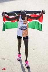Geoffrey Kamworor, flag<br /> TCS New York City Marathon 2019