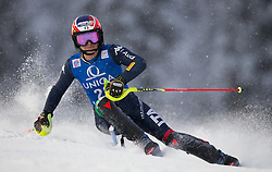 15.01.2016, Hermann Maier Weltcupstrecke, Flachau, AUT, FIS Weltcup Ski Alpin, Flachau, Damen, Slalom, 1. Lauf, im Bild Manuela Moelgg (ITA) // Manuela Moelgg of Italy competes in the 1st run of Ladie's Slalom for the FIS Ski Alpine World Cup at the Hermann Maier Weltcupstrecke in Flachau, Austria on 2016/01/15. EXPA Pictures © 2016, PhotoCredit: EXPA/ JOHANN GRODER