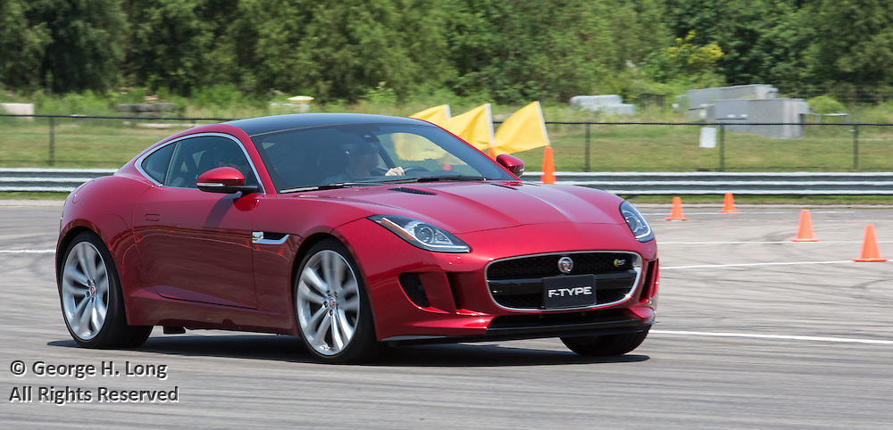 Jaguar at NOLA Motorsports Park in Avondale, Louisiana on August 25, 2015