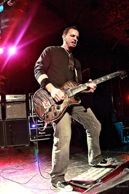 "Mark Tremonti  of Alter Bridge performs on January 1st, 2011 in support of CD ""AB III""  at the Showbox Market in Seattle, Washington"