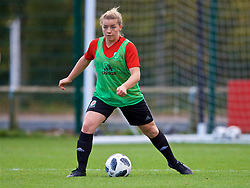 NEWPORT, WALES - Tuesday, November 6, 2018: Wales' Lucia Carpanini during a training session at Dragon Park ahead of two games against Portugal. (Pic by Paul Greenwood/Propaganda)