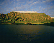 Ho'omaluhia, Ko'olau Mountains, Kaneohe, Oahu, Hawaii, USA<br />