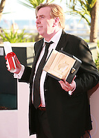 Timothy Spall - winner of Best Performance by an Actor at the Palme d'Or winners photo call at the 67th Cannes Film Festival, Saturday 24th May 2014, Cannes, France.