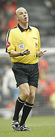 Fotball<br /> England 2004/22005<br /> Foto: SBI/Digitalsport<br /> NORWAY ONLY<br /> <br /> Liverpool v Manchester United.<br /> FA Barclays Premiership<br /> 15/01/2005<br /> <br /> Referee Steve Bennett