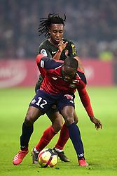 March 15, 2019 - Lille, France, FRANCE - Jonathan Ikone (Losc) vs Batalha MARTINS Gelson  (Credit Image: © Panoramic via ZUMA Press)