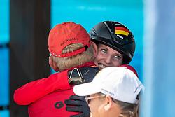 BLUM Simone (GER)<br /> Tryon - FEI World Equestrian Games™ 2018<br /> Abreiteplatz<br /> FEI World Individual Jumping Championship<br /> Third cometition - Round B<br /> 3. Qualifikation Einzelentscheidung 1. Runde<br /> 23. September 2018<br /> © www.sportfotos-lafrentz.de/Stefan Lafrentz