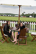 MARGARET KINUKO; ELIZABETH GALTON, Cartier Queen's Cup final at Guards Polo Club, Windsor Great Park. 16 June 2013