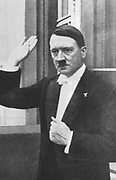 Adolph Hitler (1889-1945) German dictator a1933